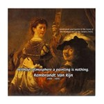 Art & Atmosphere Rembrandt Tile Coaster