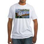 Renoir Painting: Art & Beauty Fitted T-Shirt
