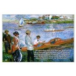 Renoir Painting: Art & Beauty Large Poster