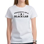 Property of a Black Lab Women's T-Shirt