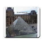 Renoir The Louvre & Nature Mousepad