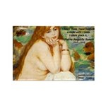Renoir Impressionist Nude Rectangle Magnet