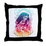 """Most Pure Heart"" Throw Pillow"