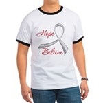 Hope Believe Diabetes Ringer T