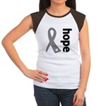 Hope Ribbon Diabetes Women's Cap Sleeve T-Shirt