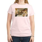 Renoir Quote and Landscape Women's Pink T-Shirt