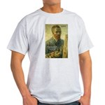 Vincent Van Gogh Quote Ash Grey T-Shirt