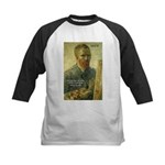 Vincent Van Gogh Quote Kids Baseball Jersey