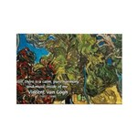 Artist Van Gogh Painting Rectangle Magnet (10 pack