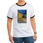 Vincent Van Gogh Color Art Ringer T