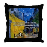 Vincent Van Gogh Color Art Throw Pillow