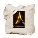 Art Architecture Eiffel Tower Tote Bag