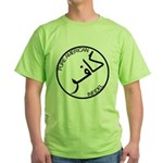 Pure Infidel (Black Logo) Green T-Shirt
