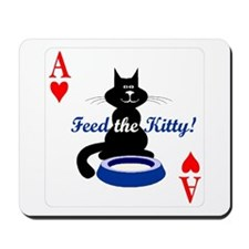 Cats Playing Poker Mousepad