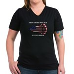 Lacrosse TheseColors Women's V-Neck Dark T-Shirt