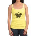 Diabetes Tribal Butterfly Jr. Spaghetti Tank