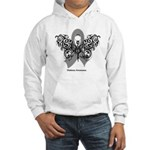 Diabetes Tribal Butterfly Hooded Sweatshirt