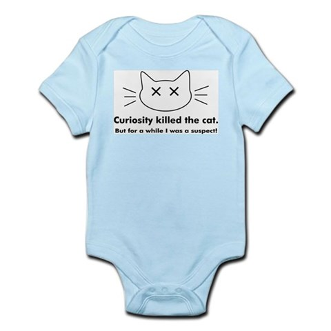 Curiosity Killed The Cat Infant Creeper