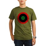 Kingdom of Libya - Air Force Roundel - History Clothing & Gifts - Men's Dark Organic T-shirt