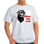 Obey the Lab Ash Grey T-Shirt