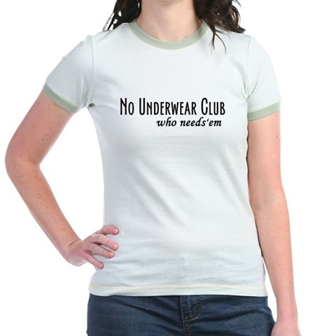 No Underwear T-Shirt