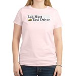 Mixed Lab Taxi Women's Pink T-Shirt