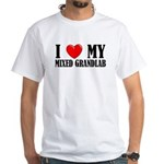 Mixed Grandlab White T-Shirt
