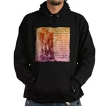 St. Michael Prayer in Latin Hoodie (dark)