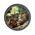 Intoxication Nietzsche Art Wall Clock