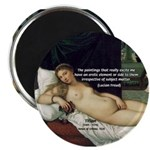 "Freud Erotic Quote and Titian 2.25"" Magnet (10 pack)"