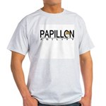 Papillon Agility Ash Grey T-Shirt