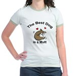 Best Mutt Dog Jr. Ringer T-Shirt