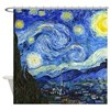 Van Gogh - Starry Night Shower Curtain