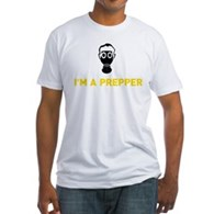 I'm A Prepper Fitted T-Shirt