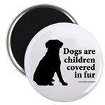 Dog Fur Children Magnet