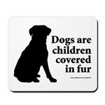 Dog Fur Children Mousepad