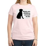 Mutt Fur Children Women's Pink T-Shirt