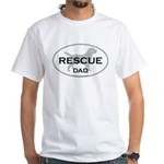 Rescue DAD White T-Shirt