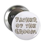 "Country Father of the Groom 2.25"" Button"