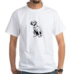 Top Dog Dalmations White T-Shirt