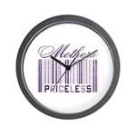 Priceless Mothers Wall Clock