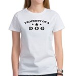 Property of Dog Women's T-Shirt
