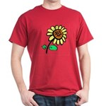 Flowers On Dark Shirts Dark T-Shirt