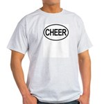 Cheer Cleerleading Cheerleader Oval Light T-Shirt
