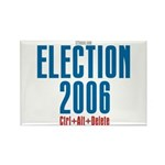 Election 2006 Reboot Rectangle Magnet