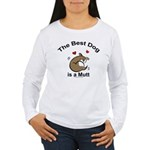 Best Mutt Dog Women's Long Sleeve T-Shirt