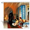 Gerome - Pool in a Harem Shower Curtain