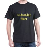 My Only Wednesday Black T-Shirt