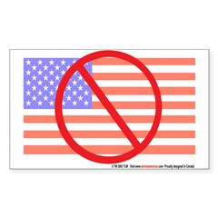 Unpatriotic flag