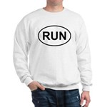 Run Runner Running Track Oval Sweatshirt